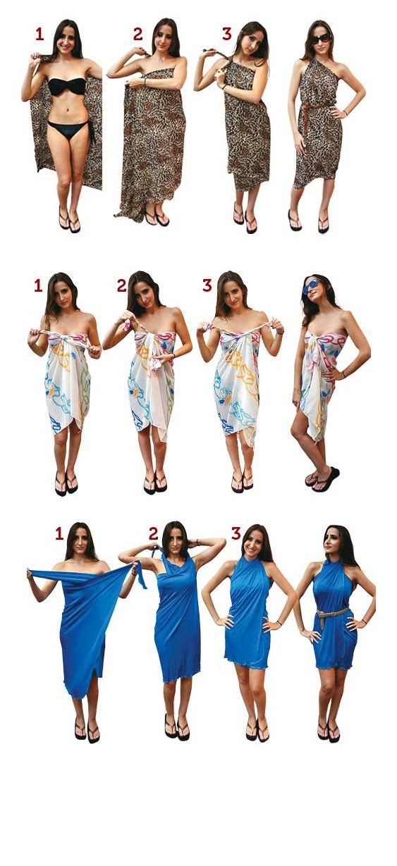 Sarong Long Dress